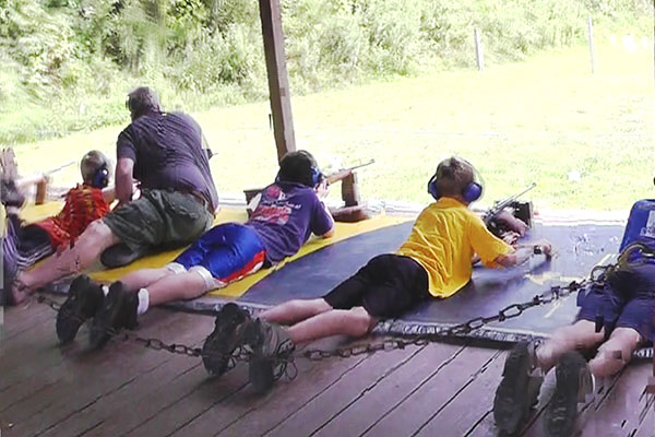 Rifle Range at Camp K